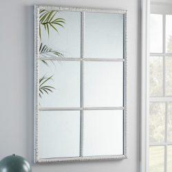 Okná, zrkadlá, sklo, krištáľ